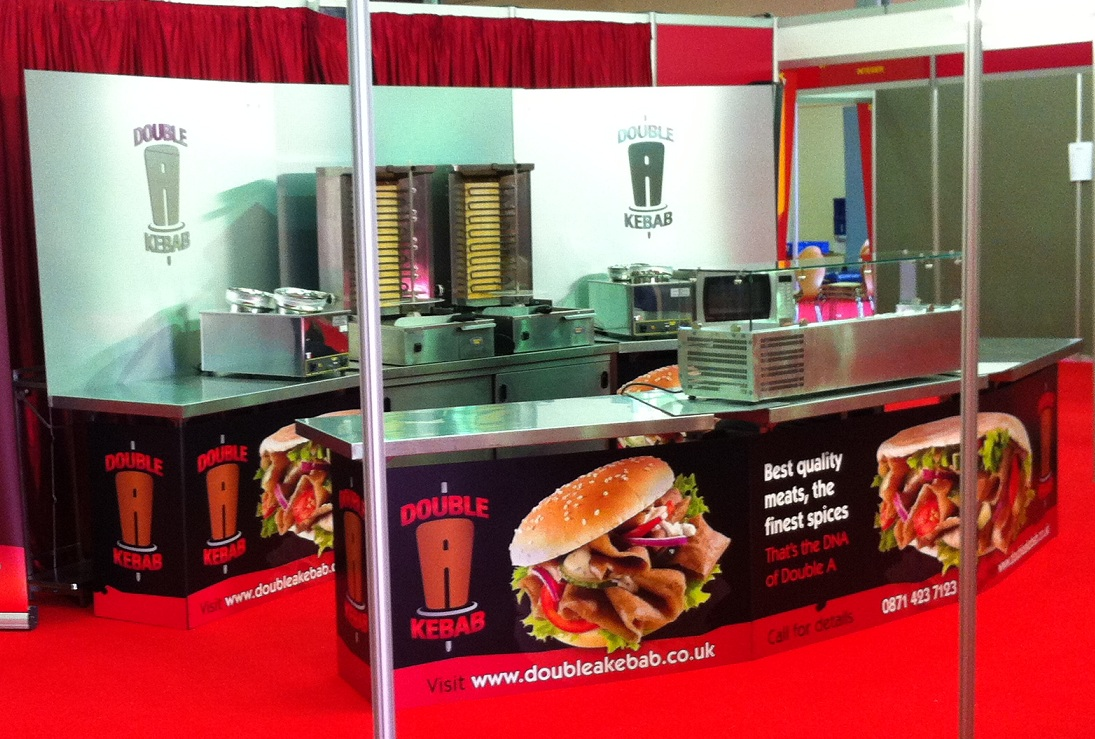 The Double A Stand at the 'What's Cooking' show. Feb 2013